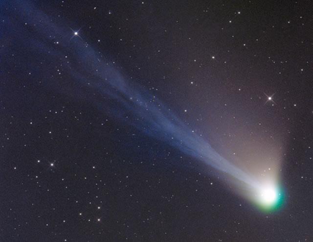 La Coda della Cometa Lemmon - Tails of Comet Lemmon