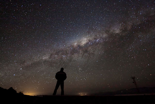 Ammirando la Galassia - Admiring the Galaxy