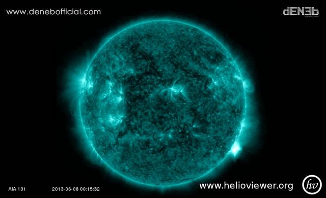Attività Solare: Solar Flare M5.9 – Space Weather: M5.9 Solar Flare