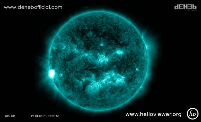 Attività Solare: Nuovo Solar Flare Classe M - Space Weather: New M-Class Solar Flare
