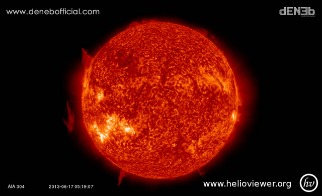 Aggiornamento Attività Solare - Space Weather Update
