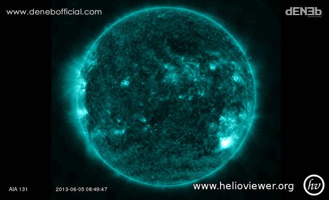 Attività Solare: un nuovo Solar Flare di Classe M1.31 - Space Weather: Solar Flare M1.31-Class