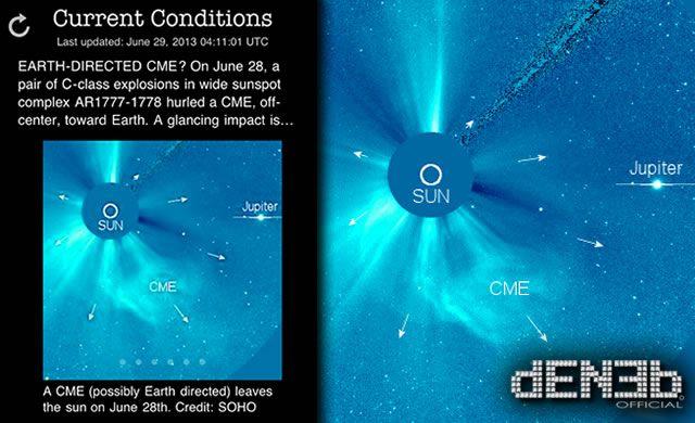 Attività Solare: Doppio Brillamento e Tempesta Geomagnetica in progressione - Space Weather: Double Solar Flare and Geomagnetic Storm in Progress