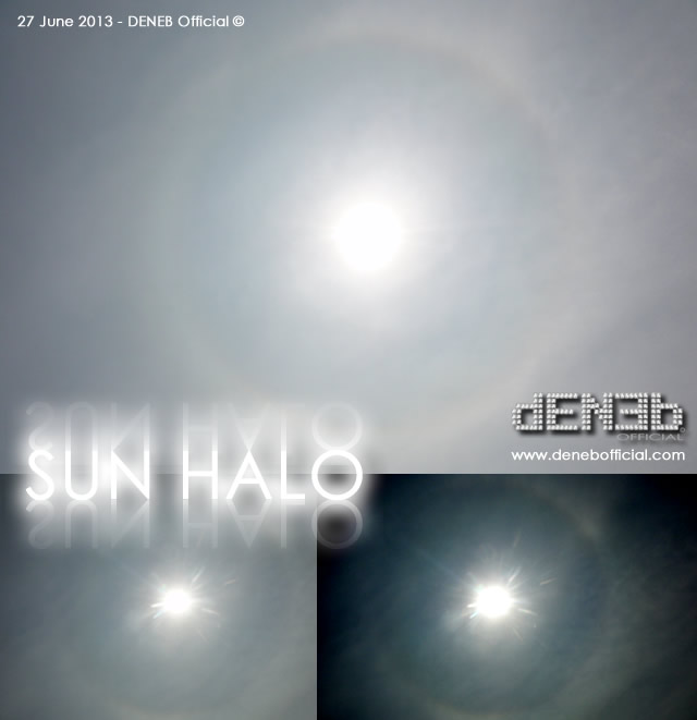 Foto del Giorno - 27 Giugno 2013: Alone Solare! - Pictures of the day - 27 June 2013: Sun Halo!