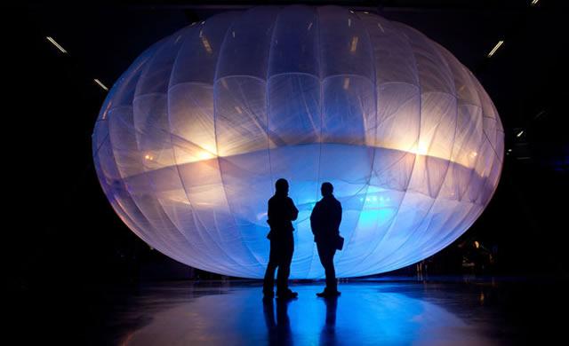 Google: Vento ed Energia Solare per Palloni intorno al globo per Accesso a Internet - #Google to Beam Internet from Balloons