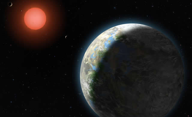Il numero di Pianeti Potenzialmente Abitabili orbitanti Nane Rosse, raddoppia - Cloud behavior expands habitable zone of alien planets