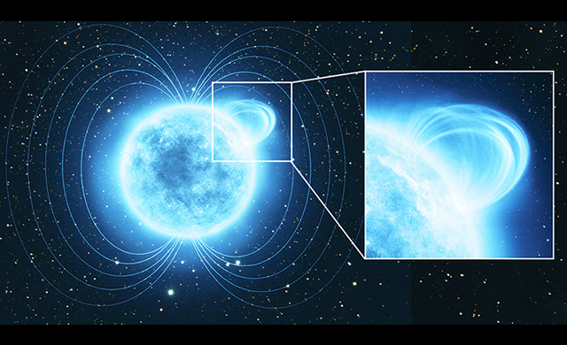 Misteriosa Magnetar vanta uno dei più forti campi magnetici dell'Universo - Mysterious magnetar boasts one of strongest magnetic fields in Universe