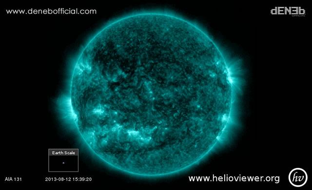 Attività Solare: Brillamento di Classe M1.5 - Space Weather: M1.5-Class Solar Flare
