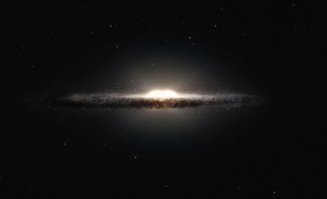 I telescopi dell'ESO producono la mappa 3D finora più accurata del rigonfiamento centrale della Via Lattea - ESO telescopes create the best 3D map yet of central bulge of the Milky Way
