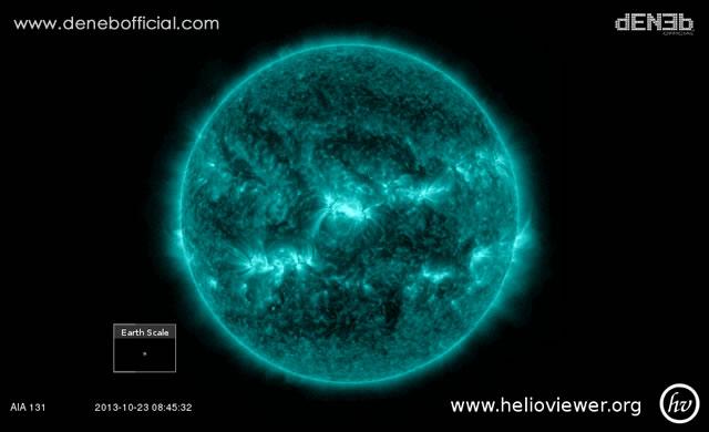 Attività Solare: Tsunami Solare e Disturbi Radio - Space Weather: Solar Tsunami and Radio Burst