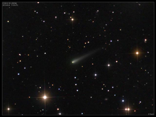 Altra immagine della Cometa ISON in avvicinamento! - Comet ISON Approaches