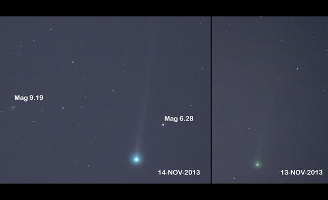 La Cometa ISON in avvicinamento è sempre più brillante - Comet ISON Outburst