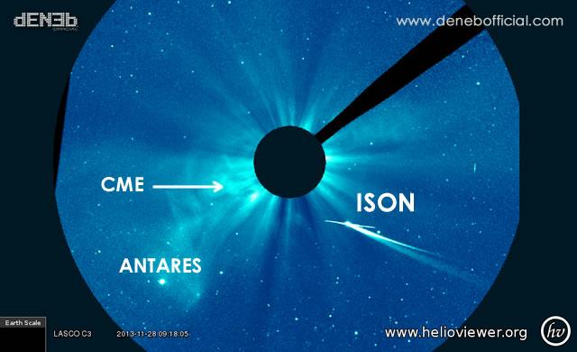 Aggiornamento Cometa ISON - ISON Comet Update - SOHO LASCO