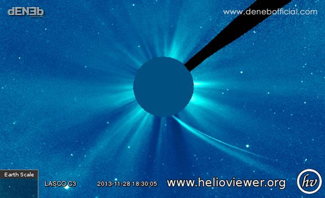 Cometa ISON: Ultima immagine - Comet ISON: Latest Image