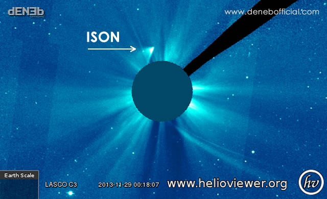 Sorpresa: ISON è ancora viva!! - Surprise: ISON is still alive!!