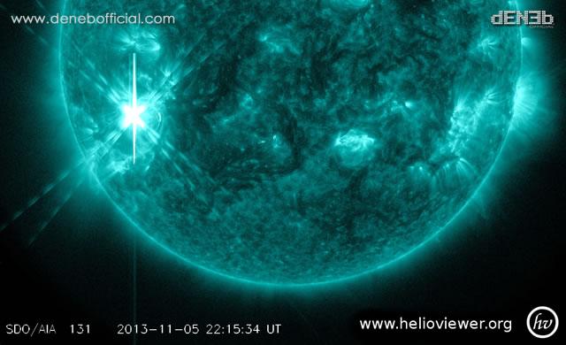 Attività Solare: Nuovo Solar Flare X3 - Space Weather: X3-class Solar Flare.