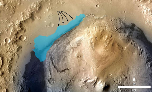 Curiosity della NASA ha scoperto un lago su Marte nel quale forse prosperava la vita -  NASA's Curiosity finds life could have flourished in ancient Mars lake