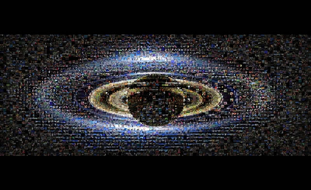 "La NASA rilascia un mosaico ""terrestre"" di Saturno e la Terra - NASA releases new mosaic of Earthlings waving at Saturn"