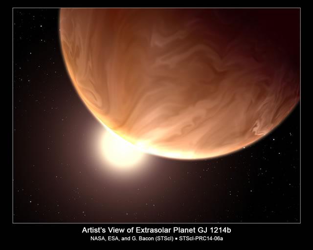 Ricercatori Evidenziano Tempo Nuvoloso su un Pianeta Alieno grazie al Telescopio Hubble - Researchers use Hubble Telescope to reveal cloudy weather on alien world