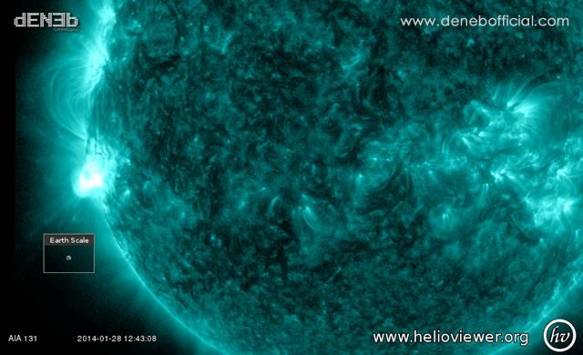Attività Solare: AR1967, ex 1944, ritorna con un brillamento di Classe M - Space Weather: AR1944 has returned with an M4-class Solar Flare