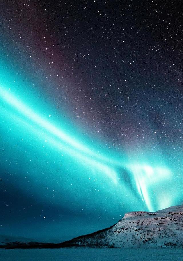 Aurora e Stelle... Aurora and Stars...