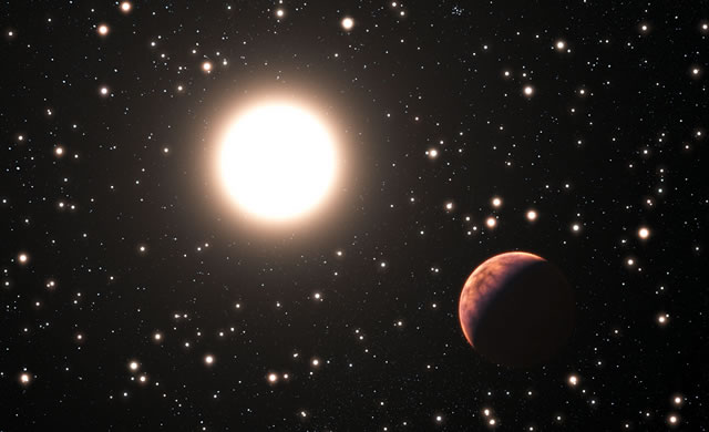ESO: Il primo pianeta trovato intorno a un gemello del Sole in un ammasso stellare - First Planet Found Around Solar Twin in Star Cluster
