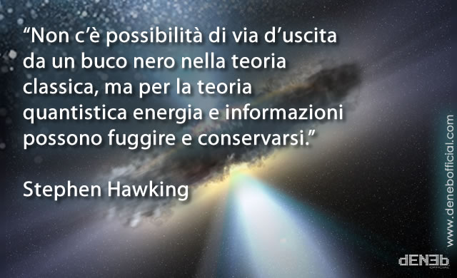 "Stephen Hawking: ""I Buchi Neri Non Esistono"" - ""There are No Black Holes"""