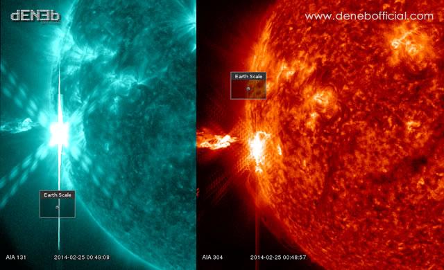 Attività Solare: La Regione Attiva 1967 Rilascia un Potente Brillamento di Classe X5 - AR1967 unleashed a powerful X5-class solar flare