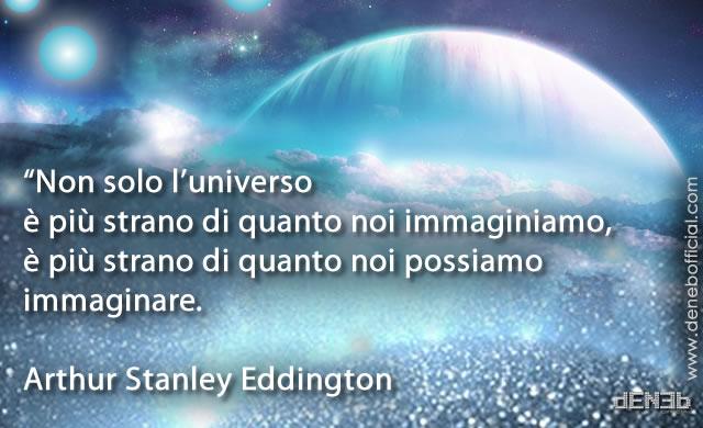 Arthur Stanley Eddington: A proposito dell'Universo - About the Universe