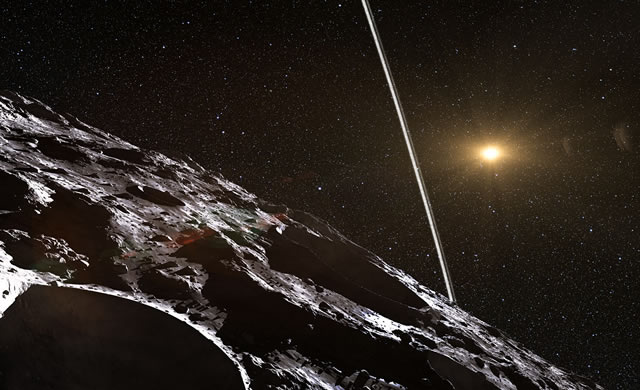 ESO: Il primo sistema di anelli intorno a un asteroide - First Ring System Around Asteroid