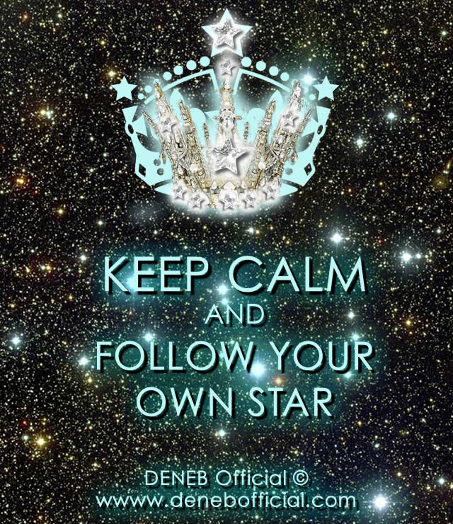 Mantieni la Calma e Segui La Tua Stella! - Keep Calm and Follow Your Own Star!