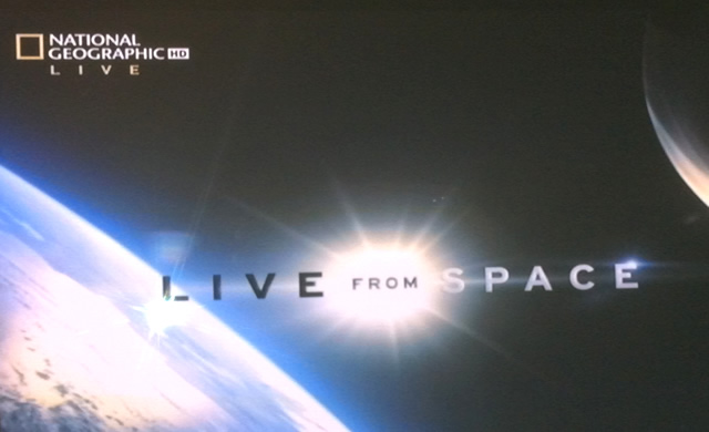 #LiveFromSpace