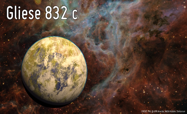 Il miglior Pianeta alieno candidato in zona abitabile - Gliese 832 c is the nearest best habitable world candidate so far