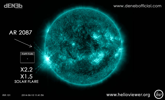 Attività Solare in Aumento: 2 X- Flares in un'ora - Space Weather: Two X-Flares detected this morning