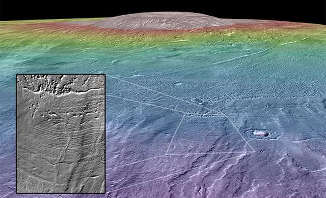 Forse Un Vulcano Marziano Può Essere un'Oasi per la Vita - Could a Mars Volcano Be an Oasis for Life?