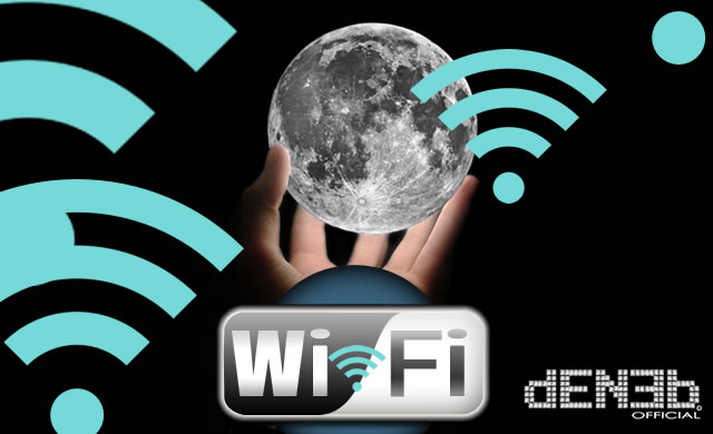Sulla Luna Nuovo Hotspot Wi-FI! - The Moon is now a wi-fi Hotspot!