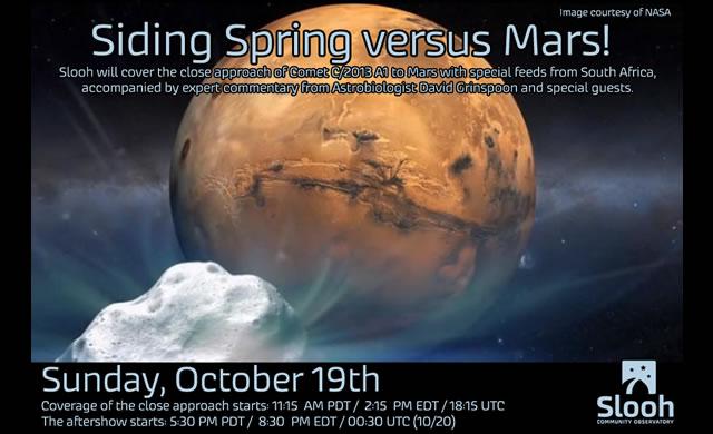 Marte e la Cometa - Mars and the Comet