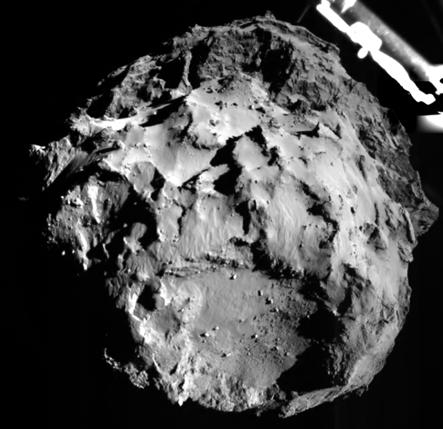 67/P: Una Cometa che Canta! -  A Singing Comet! #CometLanding