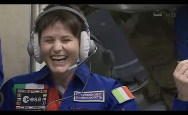 Samantha Cristoforetti entra nella ISS e nella storia! #Futura42