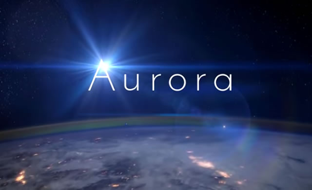 Aurora - ISS - International Space Station - Time-lapse video
