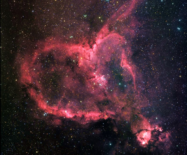 Nebulosa Cuore ♡ Heart Nebula