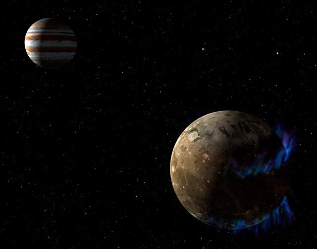 Hubble: c'è Acqua su Ganimede - Ganymede Has a Salty Ocean