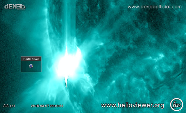 M9 Solar Flare