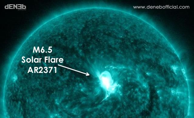 M6.5 Solar Flare - AR2371