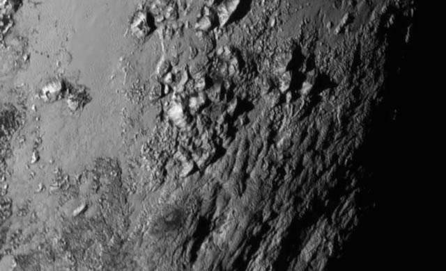 Montagne su Plutone