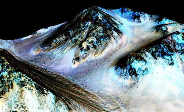 NASA Conferma: C'è Acqua Liquida Salata su Marte! - Mars Has Salty Flowing Water!