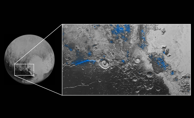 Cieli Blu e Ghiaccio d'Acqua su Plutone! - Blue Skies and Water Ice on Pluto!