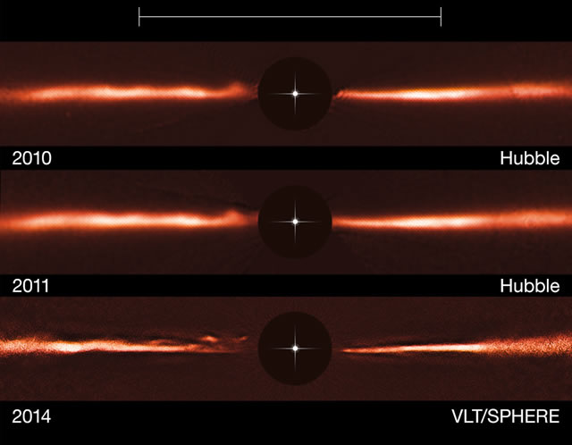 ESO - Strutture uniche individuate in una stella dei dintorni della Terra - Unique structures spotted around nearby star