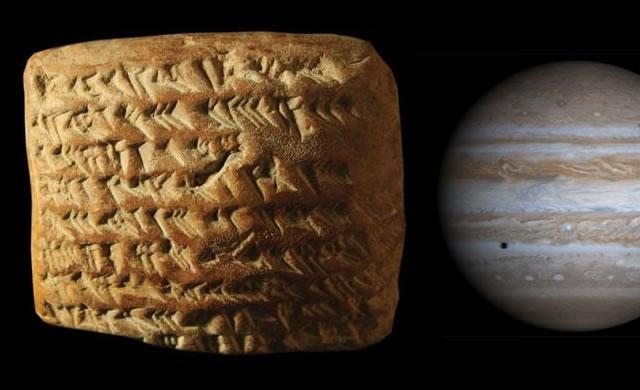 Giove e la geometria astronomica dei Babilonesi - Math whizzes of ancient Babylon figured out forerunner of calculus