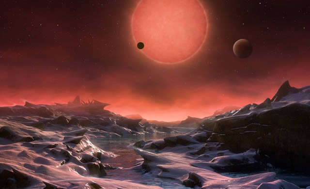 Scoperti Tre Mondi Forse Abitabili Vicini alla Terra in cui Cercare la Vita - Three Potentially Habitable Worlds Found Around Nearby Ultracool Dwarf Star